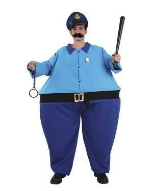 Fato de Chefe de Polícia Adulto XL para Carnaval | A Casa do Carnaval.pt