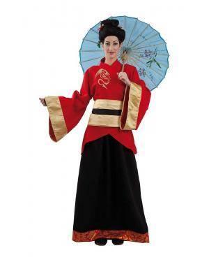 Fato de Chinesa Mulher Adulto para Carnaval | A Casa do Carnaval.pt