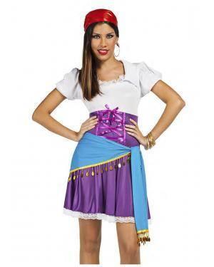 Fato Cigana T. M/L Disfarces A Casa do Carnaval.pt