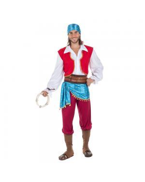Fato Cigano Homem para Carnaval
