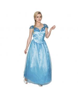 Fato Cinderella Adulto para Carnaval
