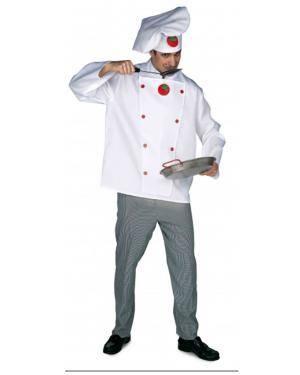 Fato Cocinero Adulto Disfarces A Casa do Carnaval.pt