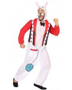 Fato Coelho Adulto para Carnaval