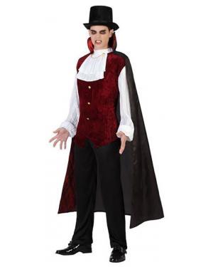 Fato Conde Dracula Vampiro Adulto Disfarces A Casa do Carnaval.pt