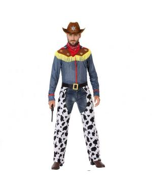 Fato Cowboy Adulto para Carnaval