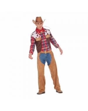 Fato Cowboy Adulto M/L para Carnaval