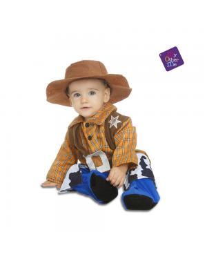 Fato Cowboy Billy Bebé para Carnaval