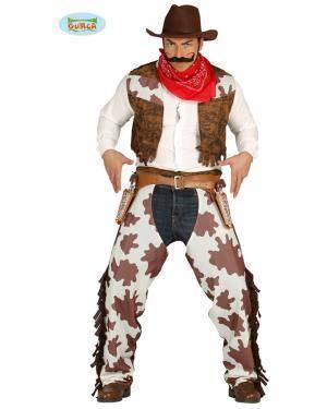 Fato Cowboy Rodeio para Homem Disfarces A Casa do Carnaval.pt