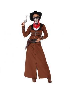 Fato Cowgirl Adulta para Carnaval