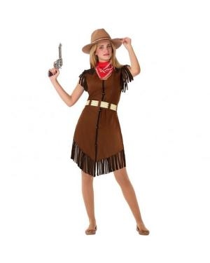 Fato Cowgirl Juvenil para Carnaval