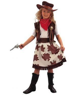 Fato Cowgirl Menina Disfarces A Casa do Carnaval.pt