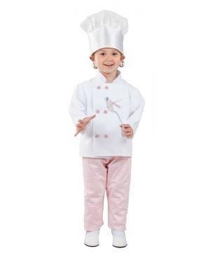 Fato de Cozinheira Bebé para Carnaval | A Casa do Carnaval.pt