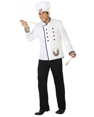 Fato Cozinheiro Adulto XS/S Disfarces A Casa do Carnaval.pt