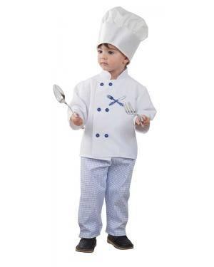Fato de Cozinheiro Bebé para Carnaval | A Casa do Carnaval.pt