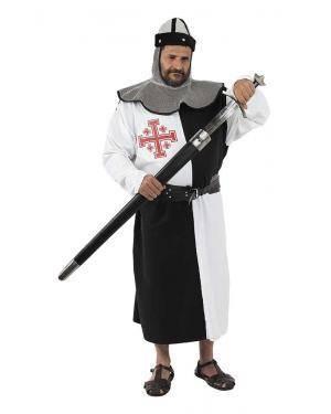 Fato de Cruzado Medieval Adulto para Carnaval | A Casa do Carnaval.pt