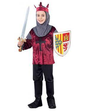 Fato Cruzado Medieval Menino Disfarces A Casa do Carnaval.pt