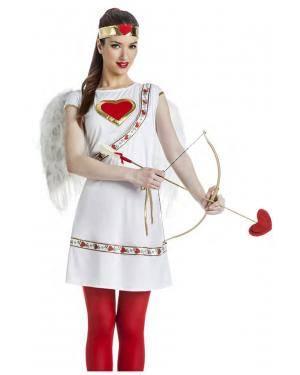 Fato Cupido Mulher Tamanho S para Carnaval