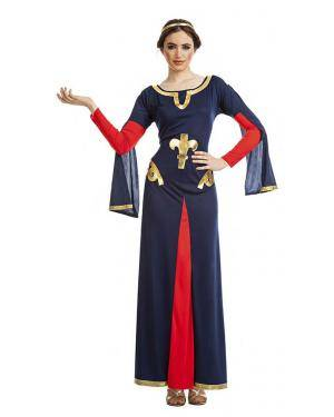 Fato Dama Medieval T. M/L Disfarces A Casa do Carnaval.pt