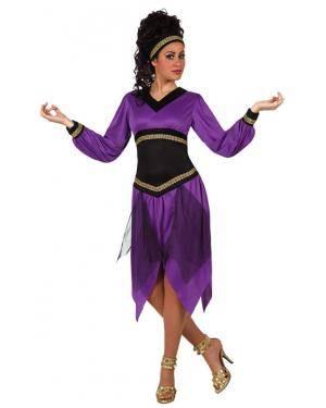 Fato Dama Morisca Adulto M-L Disfarces A Casa do Carnaval.pt