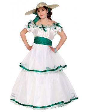Fato Dama do Sul Menina Disfarces A Casa do Carnaval.pt