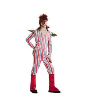 Fato David Bowie Rei de Glam Tamanho M/L para Carnaval