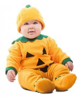 Fato de Abóbora Bebé para Carnaval