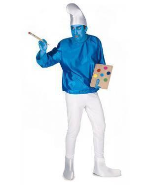 Fato de Anão Azul Adulto M/L Disfarces A Casa do Carnaval.pt