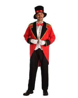 Fato de Apresentador de Circo Tamanho M/L para Carnaval