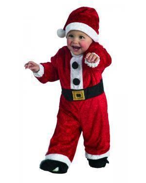 Fato de Bebé Pai Natal 1 a 3 Anos Disfarces A Casa do Carnaval.pt