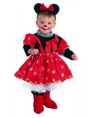 Fato de Bebé Ratinha 1 a 3 Anos Disfarces A Casa do Carnaval.pt