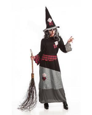 Fato de Bruxa Adulta M Disfarces A Casa do Carnaval.pt