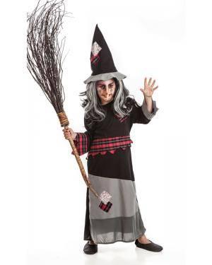 Fato de Bruxa Infantil Disfarces A Casa do Carnaval.pt