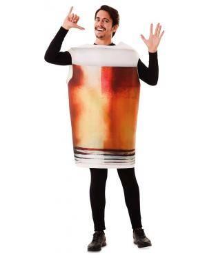 Fato de Caneca Cerveja Adulto para Carnaval