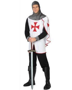 Fato de Cavaleiro Cruzadas Adulto Disfarces A Casa do Carnaval.pt