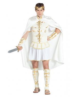 Fato de César Branco Homem para Carnaval