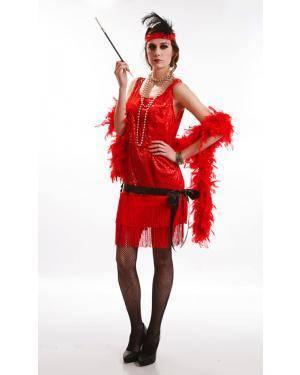 Fato de Charleston Adulta M para Carnaval o Halloween | A Casa do Carnaval.pt