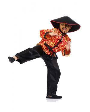 Fato de Chinês Infantil Disfarces A Casa do Carnaval.pt