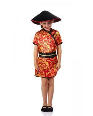 Fato de Chinesa Infantil Disfarces A Casa do Carnaval.pt