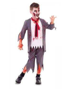 Fato de Colegial Zombie Menino Disfarces A Casa do Carnaval.pt