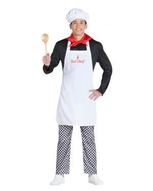 Fato de Cozinheiro com Surpresa para Carnaval