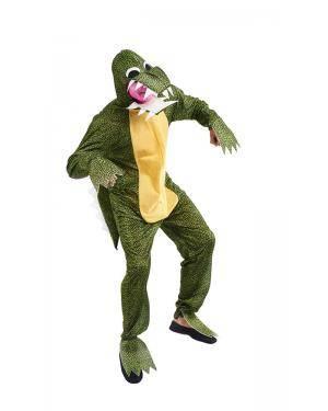 Fato de Crocodilo/Dinossauro Adulto Tamanho M Disfarces A Casa do Carnaval.pt
