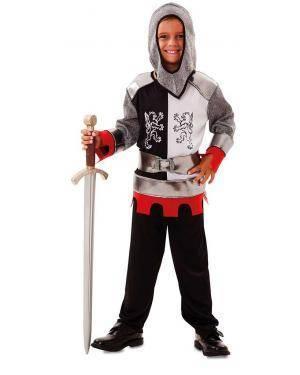 Fato de Cruzado Medieval Infantil para Carnaval