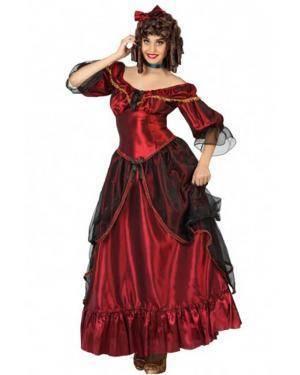 Fato de Dama Sulista Adulto para Carnaval o Halloween | A Casa do Carnaval.pt