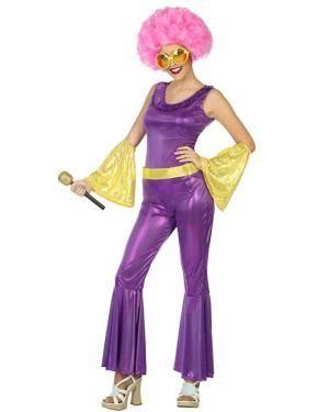 Fato de Disco Mulher Disfarces A Casa do Carnaval.pt