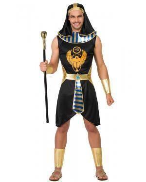 Fato de Egípcio Preto Adulto