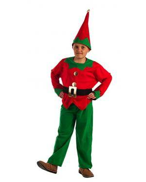 Fato de Elfo Infantil para Carnaval