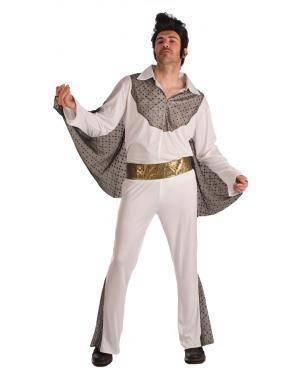 Fato de Elvis Tamanho M/L para Carnaval