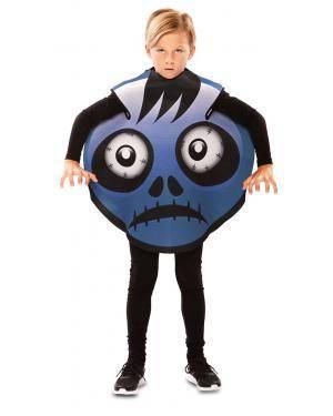Fato de Emoticon Frank 7-9 Anos para Carnaval