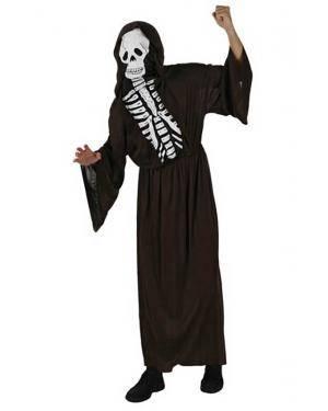Fato de Esqueleto Adulto Disfarces A Casa do Carnaval.pt