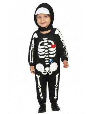 Fato de Esqueleto Bebé Disfarces A Casa do Carnaval.pt